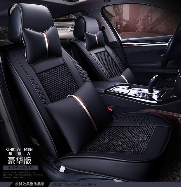 Automotive Car Seat Cushion Set Special Pu Covers Mats For ROVER 75 MG TF 3