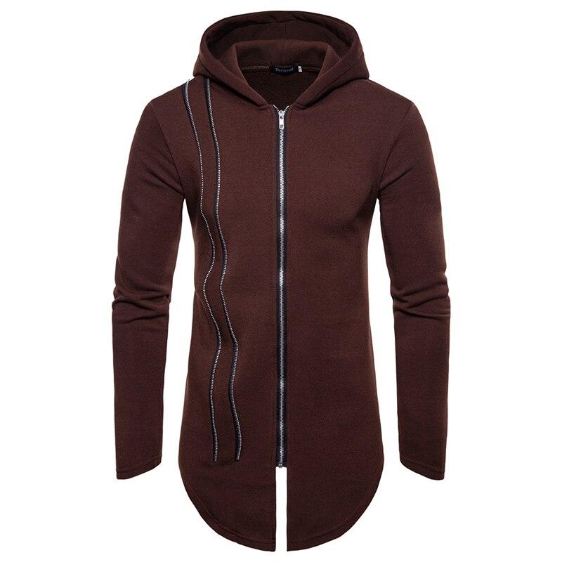 Custom Longtail Zipper Hoodie 9