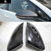 Golf 7 MK7 Carbon Fiber rear Review Mirror Cover Caps For Volkswagen VW Golf7 MK7 GTI R 2014UP free shipping
