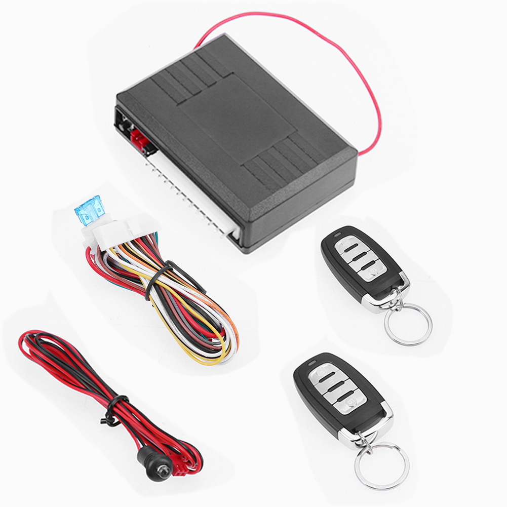 Universal Car Alarm Systems Auto Remote Central Kit Door Lock Vehicle Keyless Entry System Central Locking With Remote <font><b>Control</b></font>