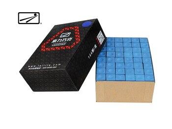 LAILI Billiard Chalk Blue Billiard Pool Chalk Billiard Accessories 144 Pieces Snooker Chalks for Professional Players Use Chalk