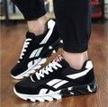 Zapatos masculinos 2016 de Los Hombres Entrenadores Walking Trail Runner racer Zapatos Ligeros Respirables de Aire Zapatos de Moda Casual Krasovki Tenisky