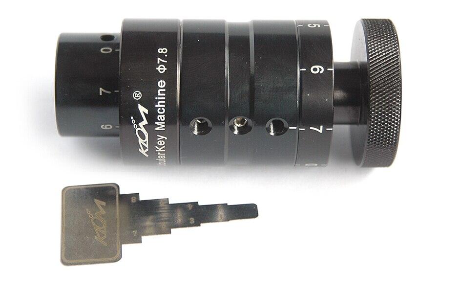 Free Shipping  Duplicate Sandard  Key For Tubalar Key 7.8mm Machine KLOM Good Quality BK088 compact klom stainless steel key check blue