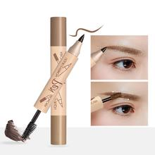 BellyLady Music Flower Double Ended Eyebrow Pencil Waterproof Long Lasting Eye Brow Tatoo Pen