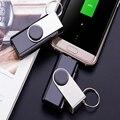 Banco de la energía 800 mAh Mini Anillo Dominante Del Diseño Del Disco de U Batería Externa Adicional paquete de energía de reserva de emergencia case para iphone 7 6 6 s plus 5