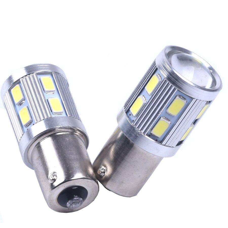 2шт BA15s из 1156 P21W 13 СМД 5630 5730 из светодиодов автомобилей хвост лампы стоп-сигналы автореверса Лампа дневного света красный белый желтый 2х