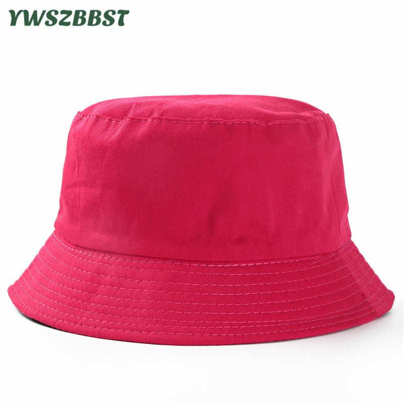 861b5b16 Children Sun Hats Solid Color Summer Beach Boys Bucket Hat Kids Sun Hat for  Girls Fashion