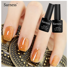 Sarness Colorful Neon Gel Polish Bling Gel Lak Vernis Soak Off glitter UV Gel Nail Polish Semi Permanent Nail Top Base Lacquers