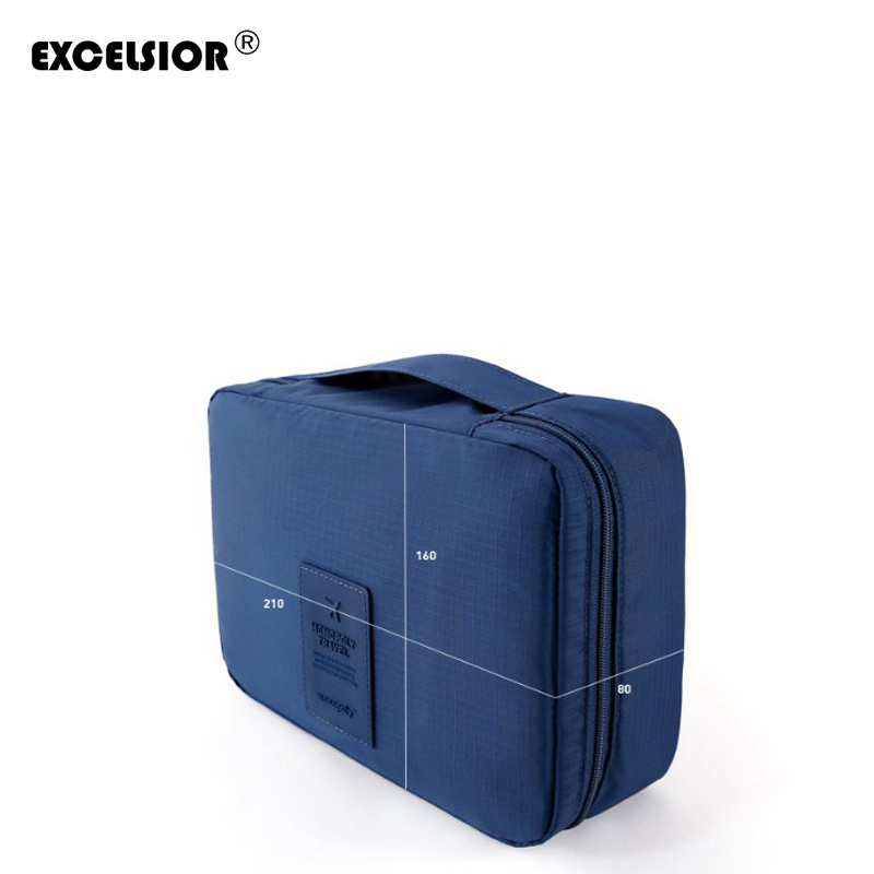 Clearance Sale! 2018 Hot Women Cosmetic Bags Makeup Organizer Bag Travel Organizer Case with Handle Necessaries Store Bag G0193