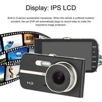 Full HD 1280 720P 4 Inch LCD Car DVR Camera Video Recorder Rear View Camera 140