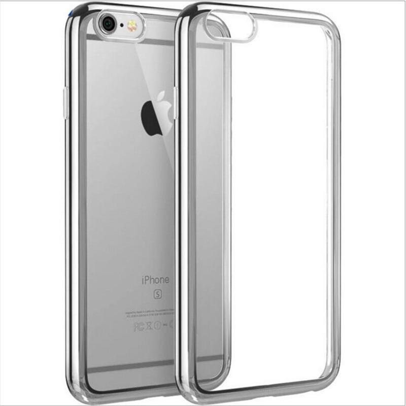 Apple iPhone 7 Case- ի համար փափուկ պարզ TPU - Բջջային հեռախոսի պարագաներ և պահեստամասեր - Լուսանկար 5