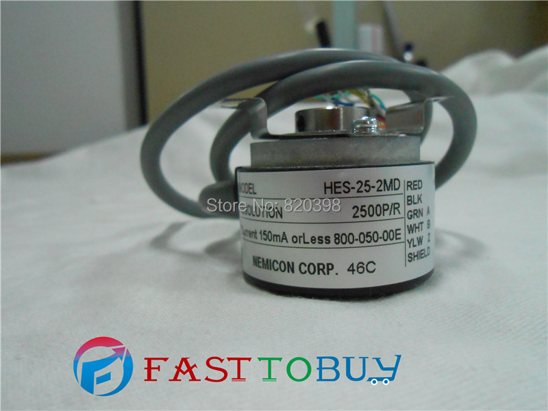 HES-25-2MD NEMICON Encoder New dhl ems new nemicon encoder hes 02 2d good in condition for industry use a1