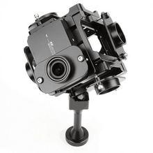 Vr pgy-6s 360 градусов панорамный кронштейн рог аксессуары для xiaomi yi 4 k крепления 6 действий камеры черный