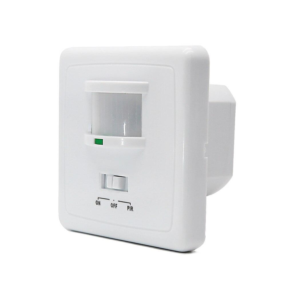 18dd4747a ⑧220 V montado en la pared del interruptor del sensor de movimiento ...