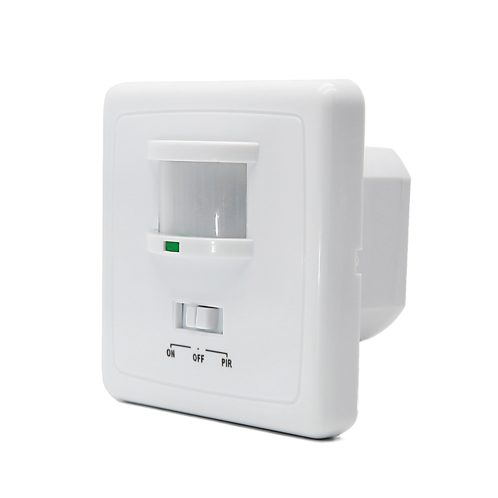 220V Wall Mounted Motion Sensor Switch,Auto Induction PIR Infared Sensor Switch(5pcs ET031) high quality wall mounted pir motion sensor light switch max 600w load 9m max distance 1pc gs45