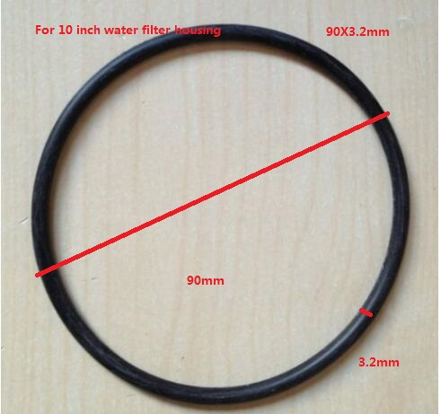 Water Filter Parts Filter Housing Black Rubber O Ring 85X3.2mm 90X3.2mm 95X3.2mm