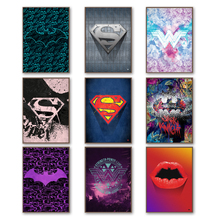 Superman Batman Wonder Woman Dc Miracle Poster Wall Art Canvas Painting Nordic Posters And Prints Wall Pictures Kids Room Decor