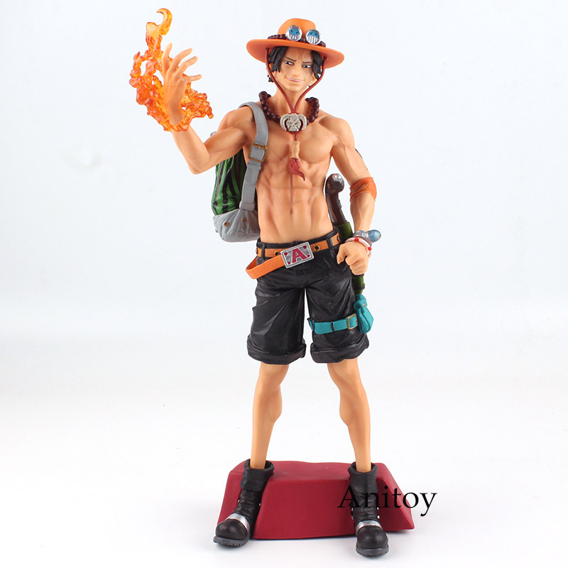 One Piece Figure Anime Super Master Stars Piece Portgas D Ace PVC Action Figure Collectible Model Toy 31.5cm KT4828             One Piece Figure Anime Super Master Stars Piece Portgas D Ace PVC Action Figure Collectible Model Toy 31.5cm KT4828