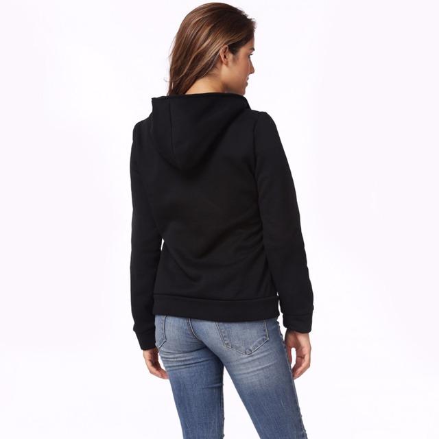 2019 Warm Women's Long Sleeve Hoodie Sweatshirt Autumn Winter