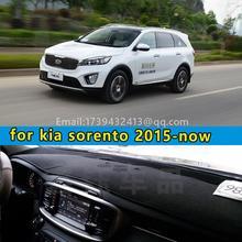 Voiture dashmats voiture-styling accessoires couverture tableau de bord pour kia sorento 2015 2016