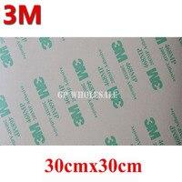 Big 30cm*30cm Pre cut 3M 468 Double Adhesive Sticker, High Temperature Resist 3M 468MP 200MP 300mm*300mm