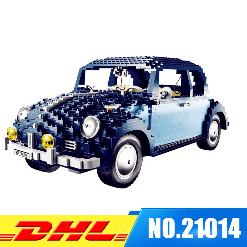 Fit For 10187 IN Stock Lepin 21014 1707Pcs Technic Classic Series The Ultimate Beetle Set Educational Building Blocks Bricks Toy lepin 20076 technic series the mack big