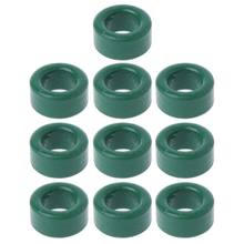 10Pc Power Transformer Ferrite Ring Inductor Coil Green Iron Toroid Ferrite Core(China)