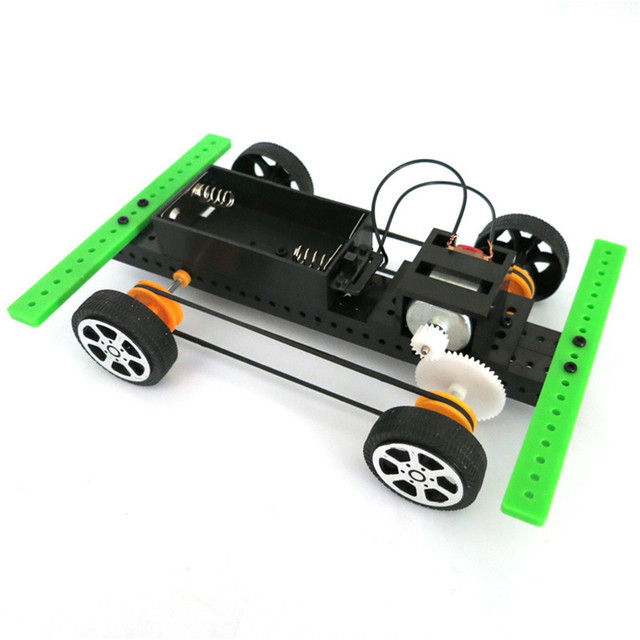 2017 # 1 Set Mini Powered Toy DIY Car Kit Children Educational...