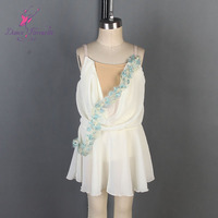 Ivory spandex bodice dance costumes balle tCostume girl & stage performance dance costume ballet tutu Cupid Dance Costumes