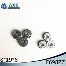 F698ZZ Bearing ABEC-5 (10PCS) 8*19*6 mm Flanged F698Z Ball Bearings F698 ZZ F619/8ZZ