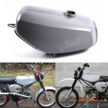 Papanda Motorcycle Steel Orange Gray Green Gas Tank Motorbike Fuel for Simson S50 S51 S70