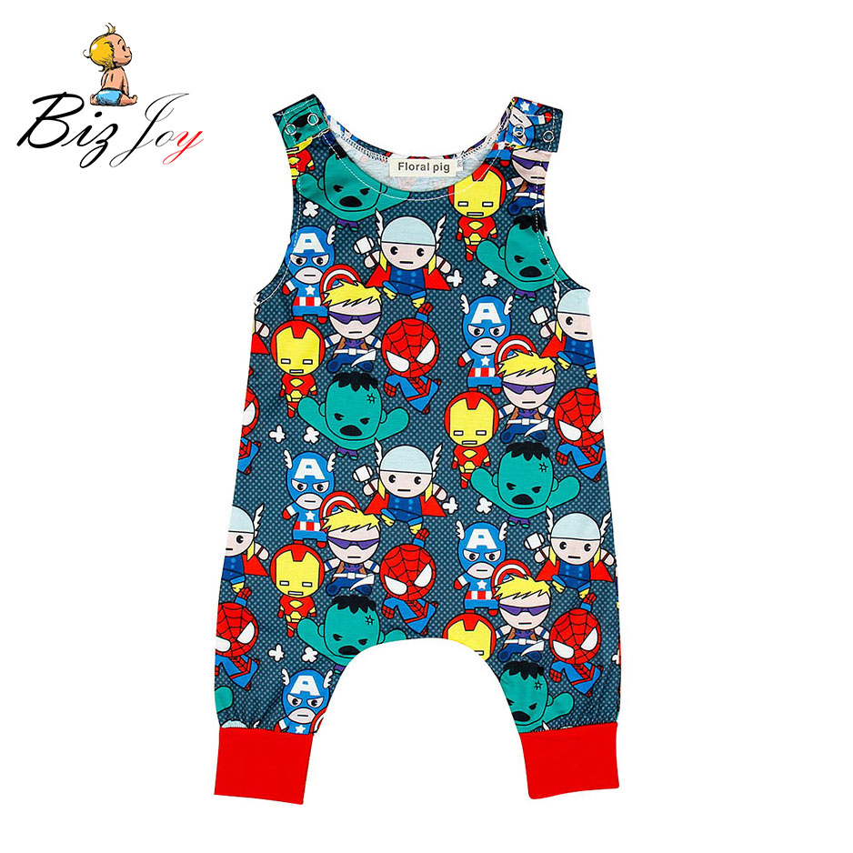 Baby Sleeveless Rompers Summer Baby Girls Boys Clothes Set Cartoon Newborn Baby Clothes Infant Jumpsuits Baby Clothing Play Mats
