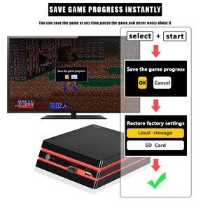 Image 4 - Coolbaby 2019 החדש HDMI/AV וידאו קונסולת משחקי 64 קצת תמיכת 4K פלט רטרו 600 קלאסי משפחת וידאו משחקי רטרו משחק קונסולה
