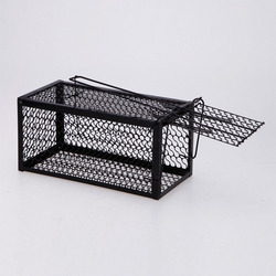 Single Door Rat Cage Home Mice Killer Rodent Animal Trap Catch Bait Mouse Control Hamster Cages  DC156