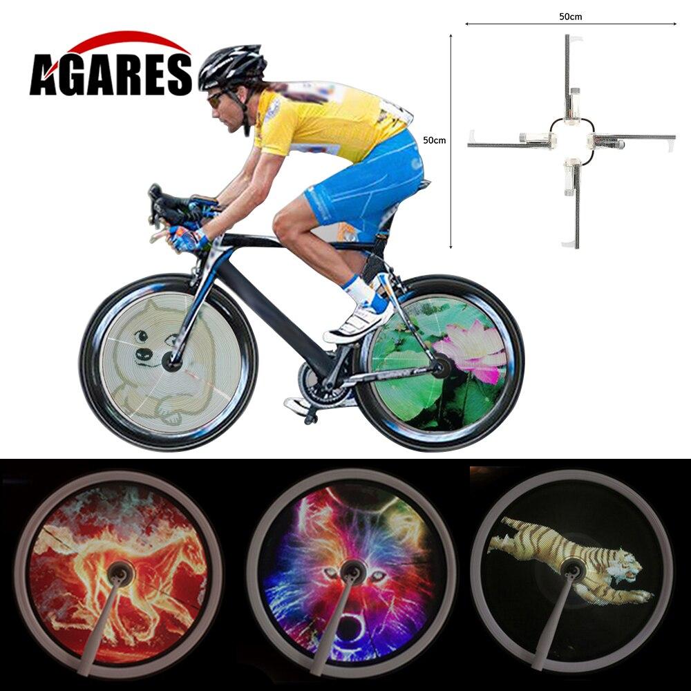 256/416pcs RGB LED Smart Cycle Bike Bicycle Light Colorful Wheel Spoke Light Programmable DIY Light Lamp Pattern bicicleta y736 40 pattern led bike spoke light front wheel mount