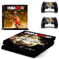 NBA2K16 Michael Jordan & Lebron james Skin Sticker Cover Decal  For PS4 Playstation 4 Console + Controller Decal