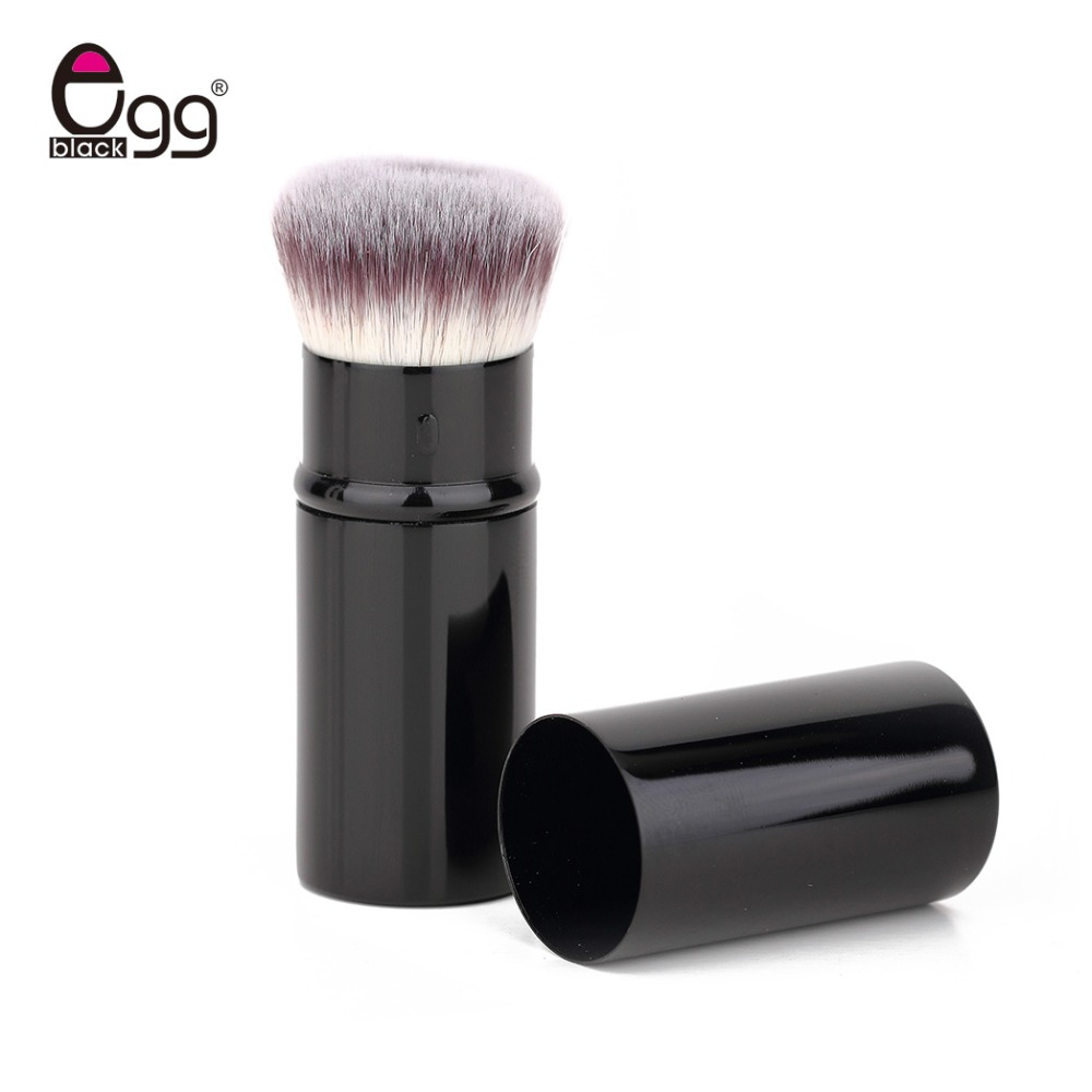 Retractable Makeup Brush Portable Foundation Brush Face Powder Contour Blusher Brush Professional Soft Cosmetic Beauty Tools mistura beauty solutions retractable brush 1 ounce