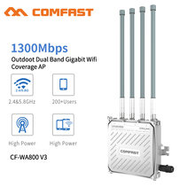 Comfast 1300Mbps Dual Band 5,8G Outdoor AP 4 * 8dBi Antenne WiFi Abdeckung Basis Station Router WiFi Signal hotspot Verstärker Repeater
