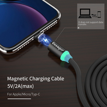 Essager Magnetic USB Type C Cable For Samsung Galaxy S9 Plus One plus 6 USB-C Type-C Cable Cord Charging Magnet Charger USB Wire