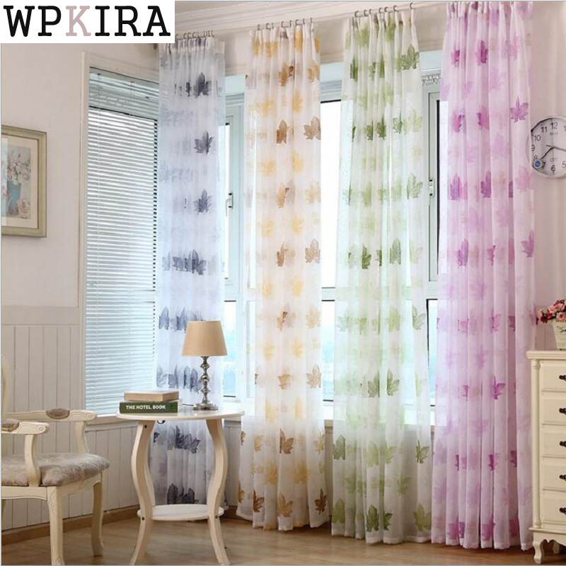 Modern White Embroidered Butterfly Voile Curtain Bedroom Sheer Curtains Living Room Tulle Window Curtains S033&20