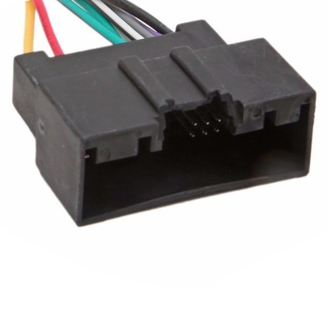 Cable adaptador de Radio ISO para Conector estéreo de coche para Ford Fiesta Mk7 2008-2015, para Ford Focus 2011-2019