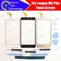 Leagoo M5 Além disso Digitador Touch Screen Garantia de 100% Originais Do Painel de Vidro Digitador Da Tela de Toque Para M5 Plus + ferramentas + adesivo