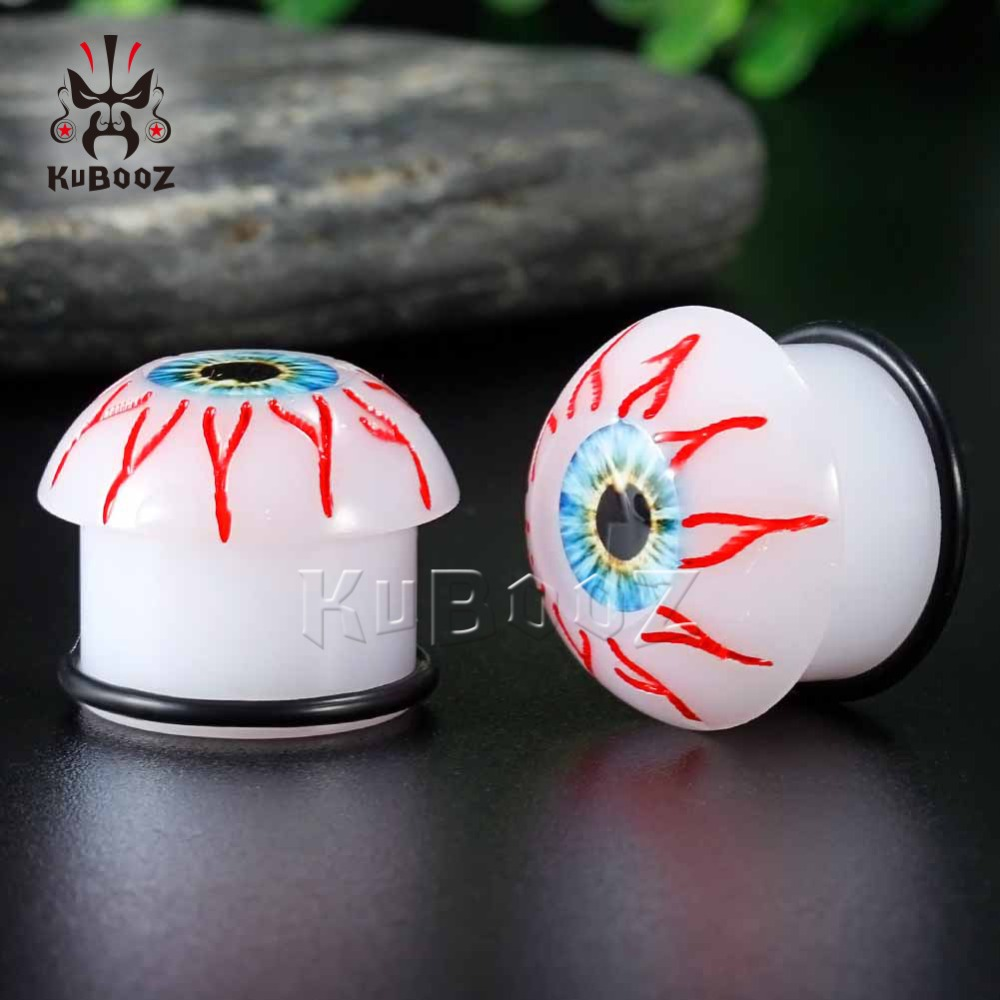 Acrylic ear tunnel plug