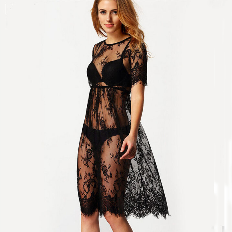 sexy lace coverup equitable