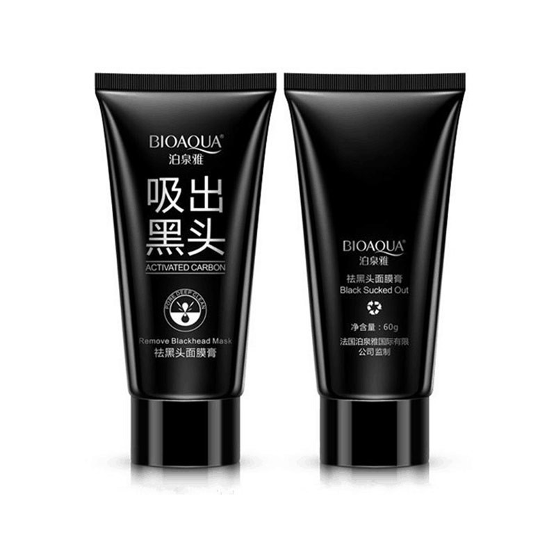 2019 Top Fashion Face ihonhoito Imu-nenä Mustapää poisto Akne hoito naamarit Kuorinta Peel Off Black Head Mud Facial Mask
