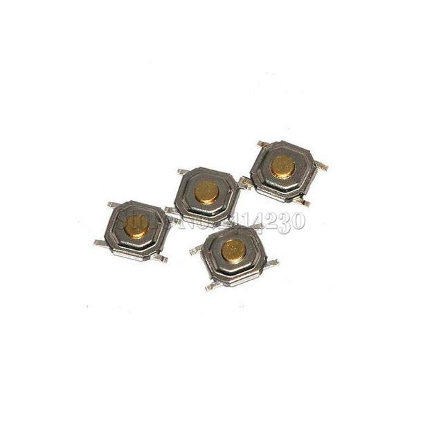 مفتاح دفع بزر اللمس 100x للحظي اللباقة 4x4x1.5 مللي متر 4pin مفتاح تثبيت سطح SMD صغير