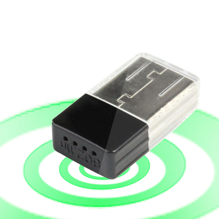 Mini 2,4 GHz 150 Mbps USB 802.11n Wireless Wifi Netzwerk Adapter Lan-karte...