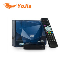 Оригинал V6S Мини Цифровой Спутниковый Приемник выход 2 2xusb WEB TV USB Wi-Fi 3 Г Biss Ключ CCCAMD NEWCAMD MGCAMD