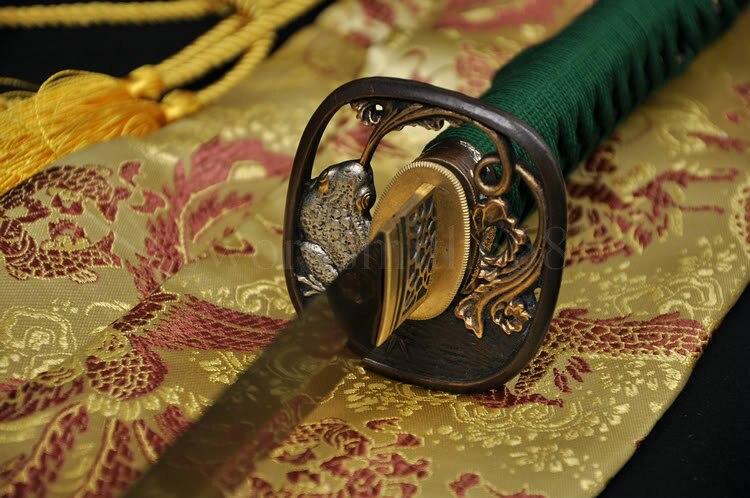 Əllə hazırlanmış Tam Tang Yapon Samurai Katana Dadlı Ev Dekor - Ev dekoru - Fotoqrafiya 2