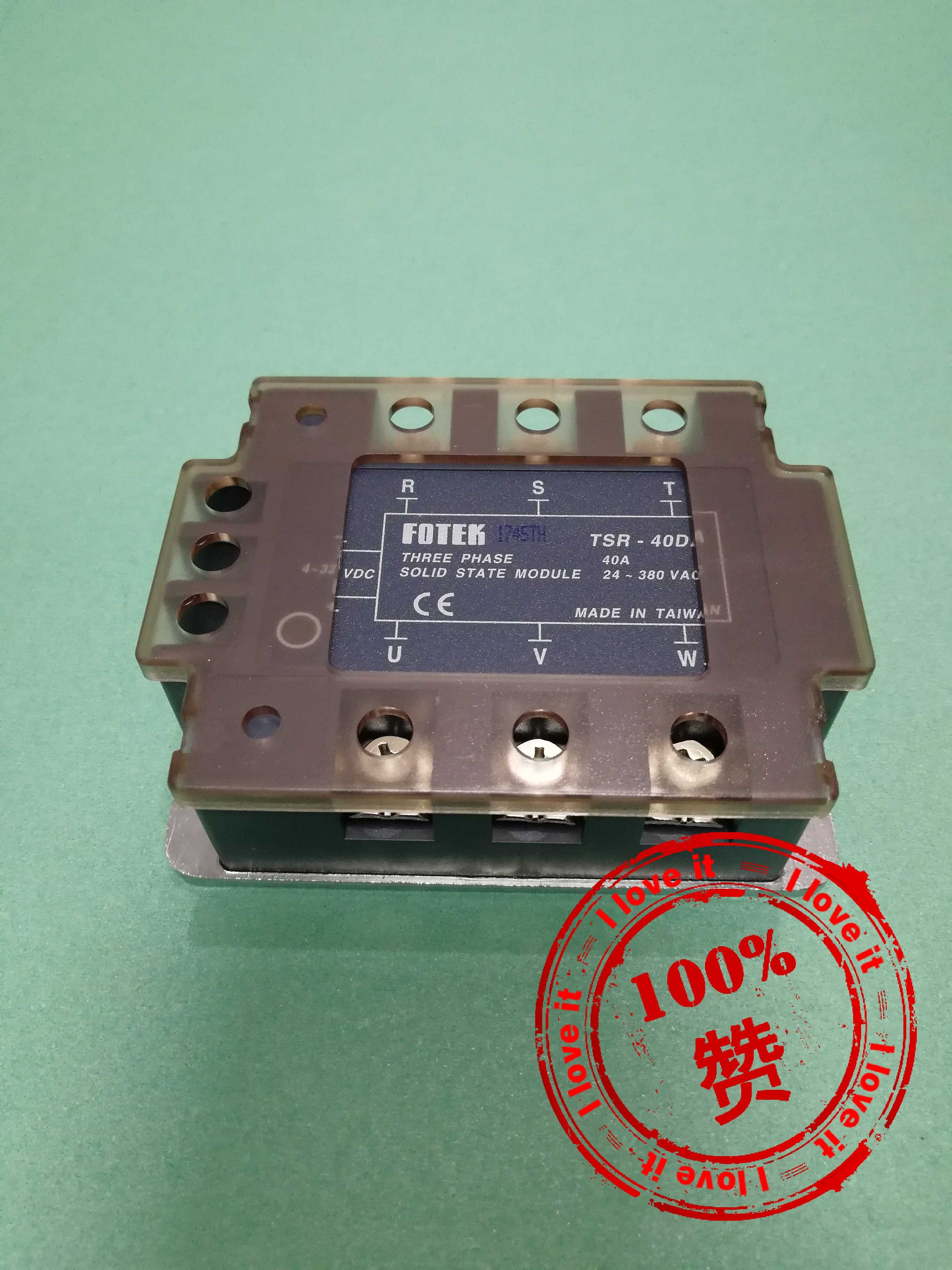 Three-phase Solid-state Relay TSR-40DA Imported Original Tsr-40da False Penalty 10
